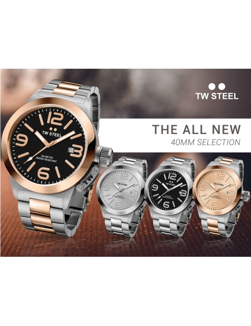 TW Steel 40MM Selection -The All New TW Steel 40MM