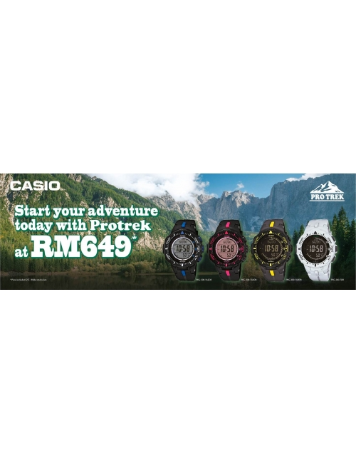 CASIO Timepiece -Pro Trek PRG-300 Promotion!